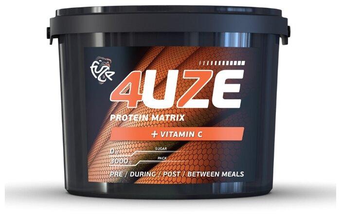 Купить Протеин Fuze Protein Matrix + Vitamin C (3000 г) сливочная карамель по низкой цене с доставкой из Яндекс.Маркета