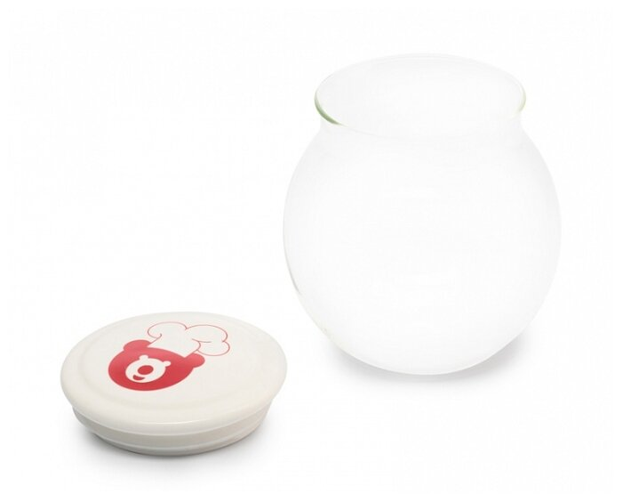 Oursson Баночка стеклянная GP55039/TR для йогуртницы