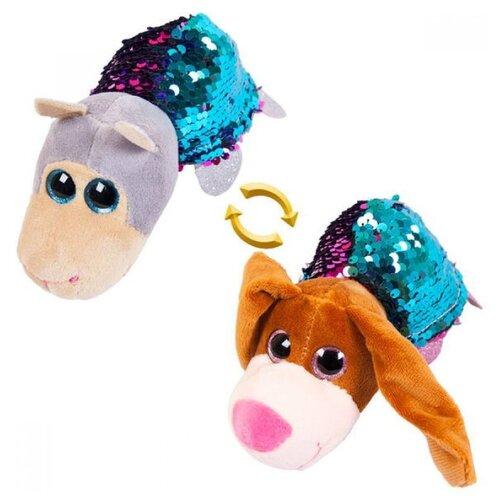 Фото - Игрушка мягкая ABtoys Вывернушка Собака-Овечка 7 см мягкая игрушка abtoys собака m2032 14 см