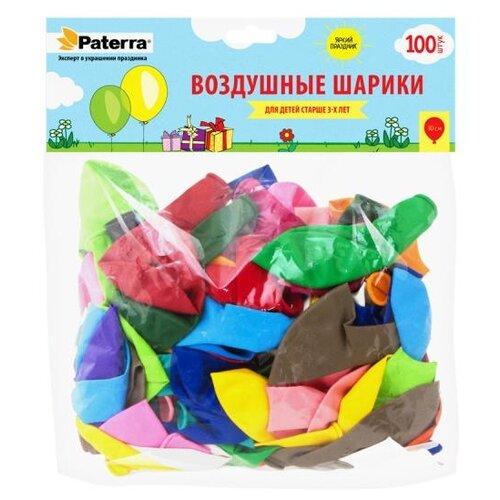 Набор воздушных шаров Paterra 401-542 (100 шт.) разноцветный