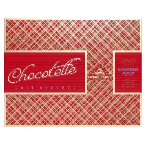 Набор конфет Sweet Fargo Премиум шокотелле в молочном шоколаде 230 г красный
