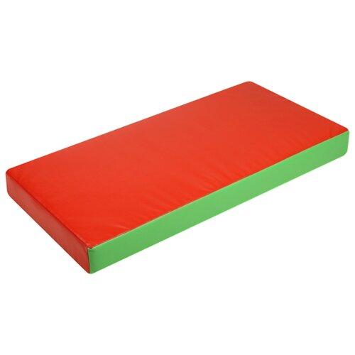 Спортивный мат 1000х500х100 мм Onlitop 4319050/4319048 красный/зеленый