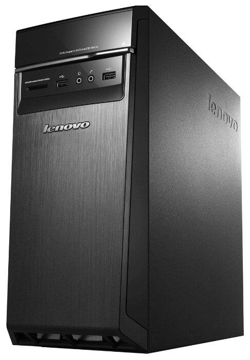 Настольный компьютер Lenovo H50-55 (90BG004FRS) Mini-Tower/AMD A10-8750/8 ГБ/8 ГБ SSD+1 ТБ HDD/AMD Radeon R7 350/Windows 10 SL