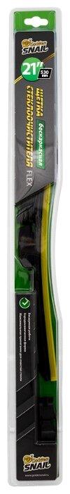 Щетка стеклоочистителя бескаркасная Golden Snail GS7109 530 мм