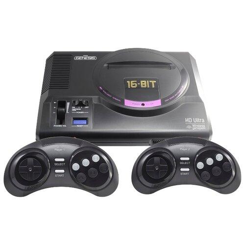 Игровая приставка Retro Genesis HD Ultra + 50 игр черный  - купить со скидкой
