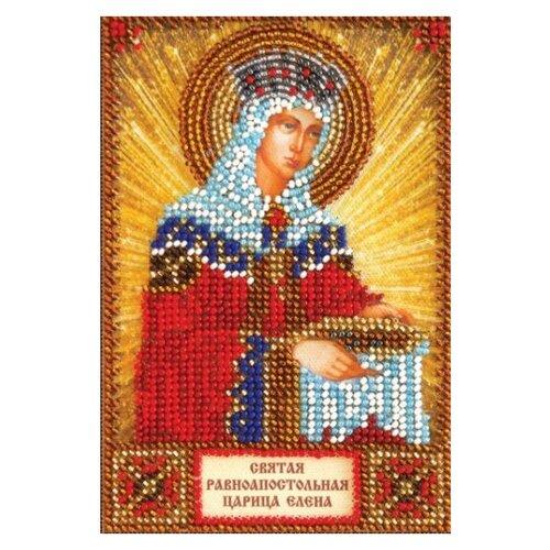 Купить ABRIS ART Набор для вышивания бисером Святая Елена 10 х 15 см (AAM-005), Наборы для вышивания