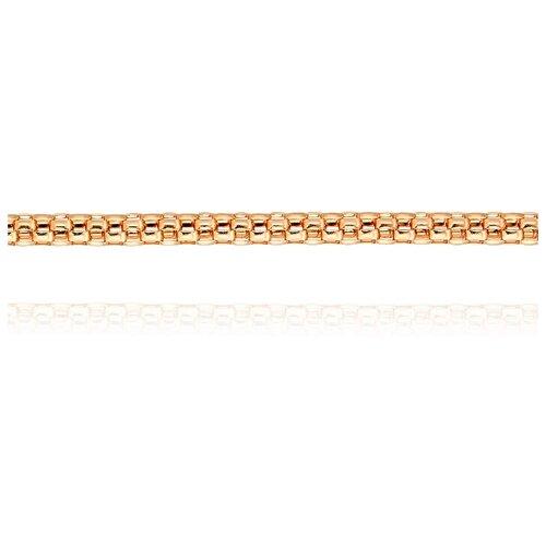 АДАМАС Цепь из золота плетения Попкорн ЦПК124-А51, 40 см, 5.08 г