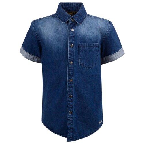 Рубашка Pinetti размер 164, темно-синий поло pinetti