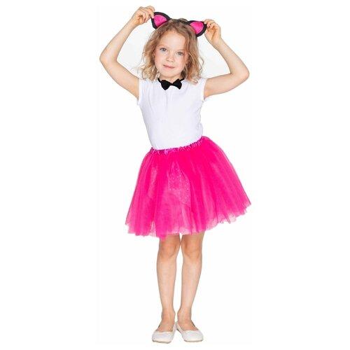 Купить Костюм ВКостюме.ру Кошечка (1027639), розовый, размер 119, Карнавальные костюмы