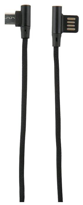 Кабель Red Line Fit USB - microUSB 1 м черный фото 1