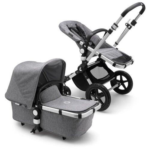 Универсальная коляска Bugaboo Cameleon3 Plus (2 в 1) Alu/Grey melange/Grey melange, цвет шасси: серебристый