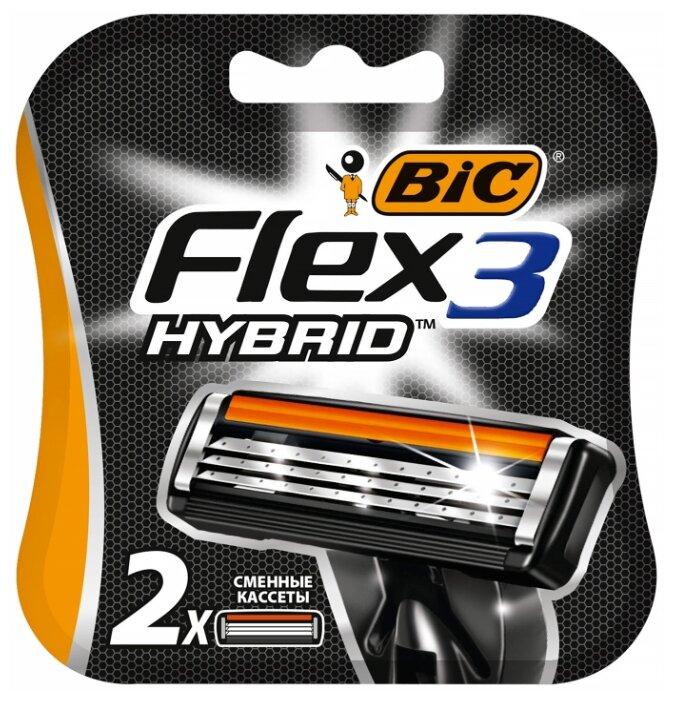 Сменные кассеты Bic 3 Flex Hybrid — купить по выгодной цене на Яндекс.Маркете