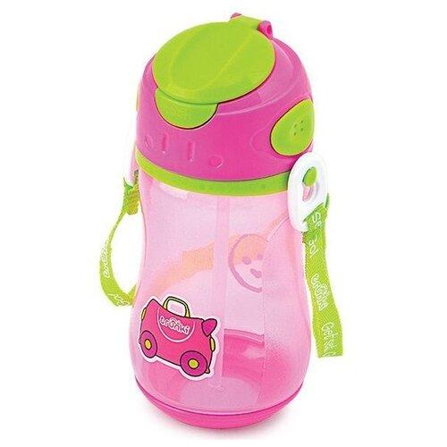 Бутылочка для воды Trunki, розовая (0295-GB01)