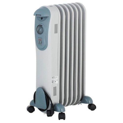 Масляный радиатор VITEK VT-2121 серый