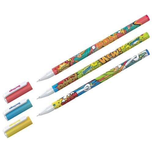 Купить Berlingo Набор шариковых ручек Funline. Hype, 0.5 мм, 36 шт (CBp_07273), синий цвет чернил, Ручки