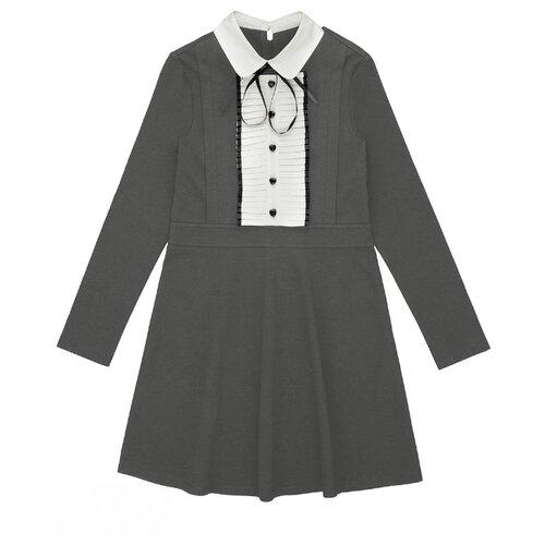 Купить Платье INFUNT Nicolet-Inf размер 146, серый, Платья и сарафаны