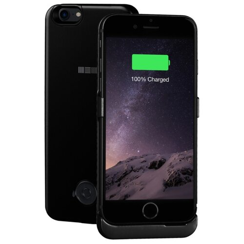 Чехол-аккумулятор INTERSTEP Metal battery case для iPhone 7/8 jet black чехол для сотового телефона interstep armore для nokia 3 black harno00003knp1101ok100