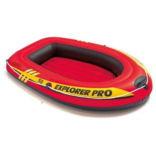 Купить Надувная лодка Intex Explorer Pro 50 58354 красный, Надувные игрушки