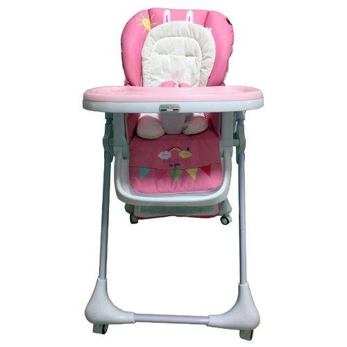 Купить Стульчик-шезлонг BellaBaby B-003S розовый, Стульчики для кормления