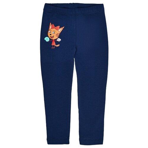 Купить Леггинсы Frutto Rosso Три кота TKG187 размер 110, синий, Брюки