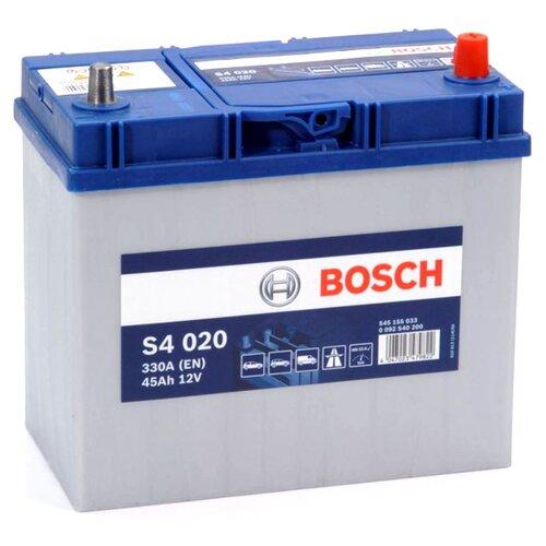 цена на Автомобильный аккумулятор Bosch S4 020 (0 092 S40 200)