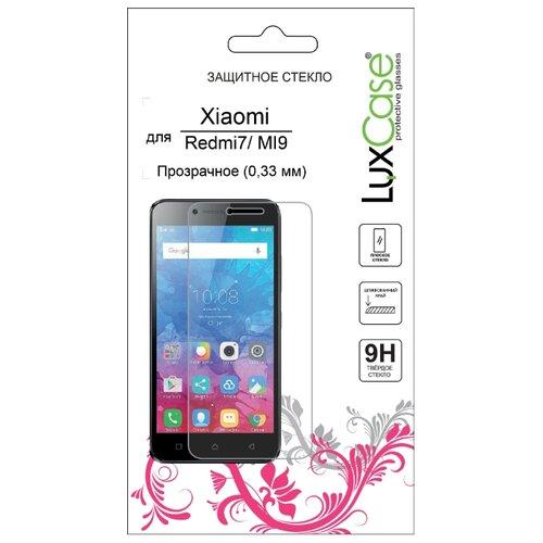 Защитное стекло LuxCase для Xiaomi Redmi 7/Mi 9 прозрачный