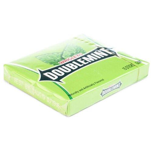 Жевательная резинка Doublemint со вкусом мяты, 15 пластинок
