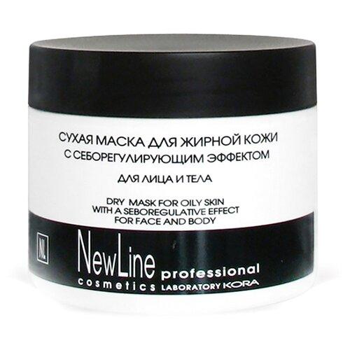 NewLine Сухая маска с себорегулирующим эффектом для жирной кожи лица и тела, 300 мл
