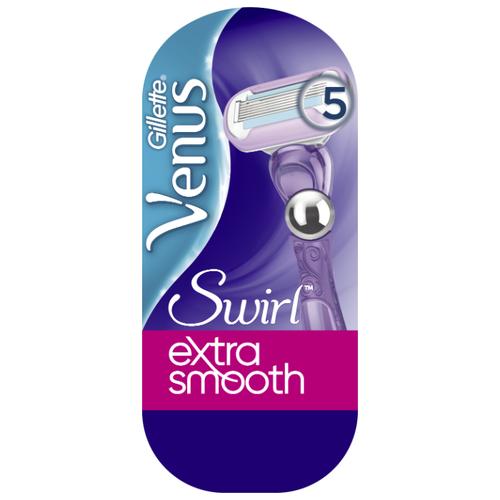Venus Swirl Extra Smooth Бритвенный станок, с 1 сменным лезвием в комплекте