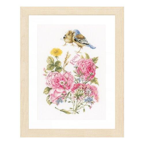 Купить Набор для вышивания Finches LANARTE 27 х 37 см PN-0154655, Наборы для вышивания
