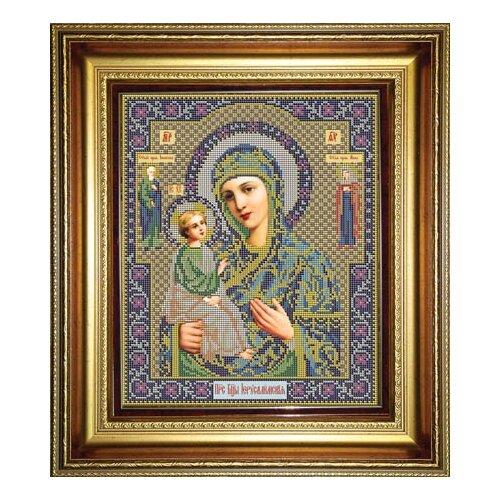Купить Набор для вышивания бисером Икона Божией Матери Иерусалимская 25 х 31 см И042, Galla Collection, Наборы для вышивания