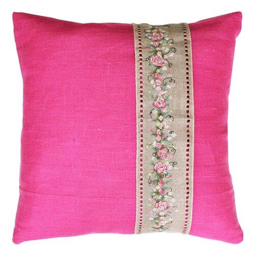 Набор для вышивания подушка Гирлянда из роз, Luca-S LUCA-S PB106
