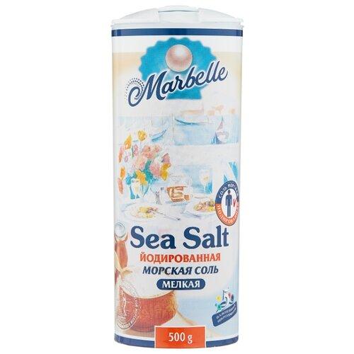 Marbelle Соль морская, йодированная, мелкая, 500 г