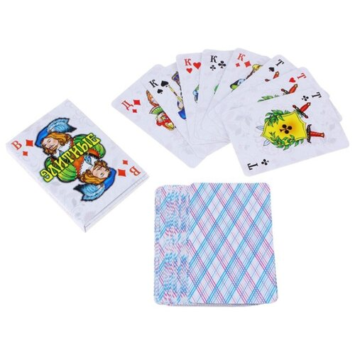Гелий игральные карты Элитные 36 шт. белый