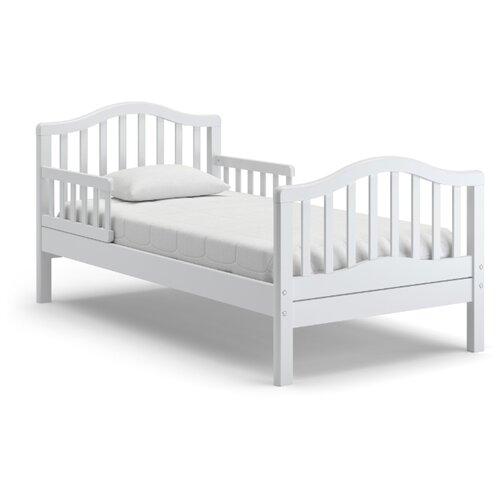 Кровать детская Nuovita Gaudio, размер (ДхШ): 167.5х87.5 см, спальное место (ДхШ): 160х80 см, каркас: массив дерева, цвет: bianco
