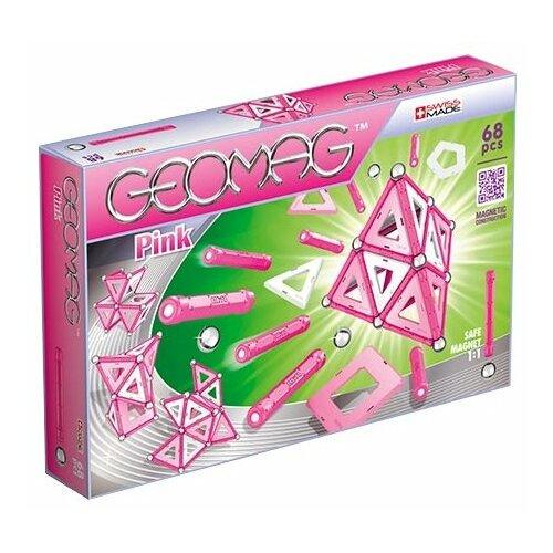 Купить Магнитный конструктор GEOMAG Pink 342-68, Конструкторы