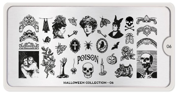 Трафарет MoYou London Halloween №06 12.5 х 6.5 см