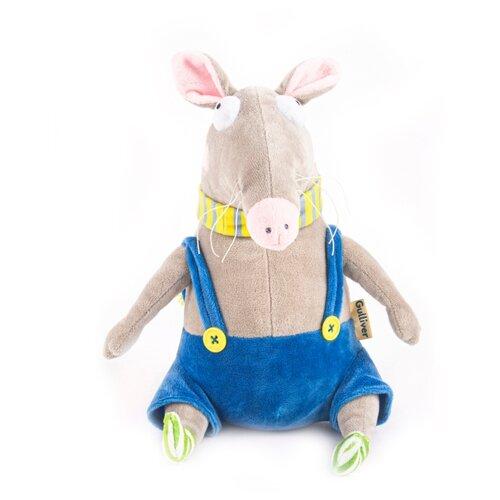 Мягкая игрушка Gulliver Крыса Афоня 25 см олимпийка adidas adidas ad094ebuoj14