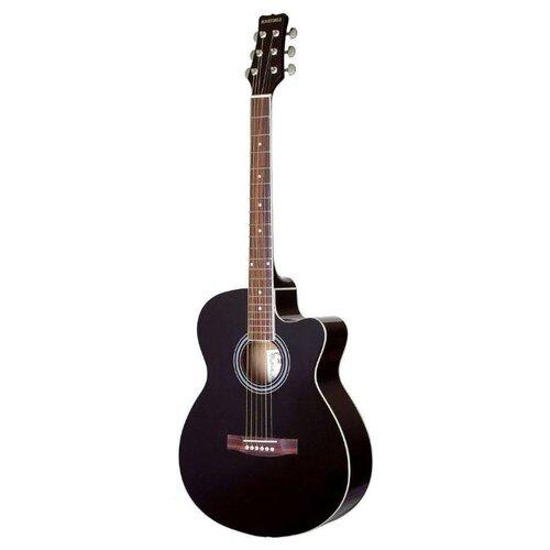 Вестерн-гитара Martinez W-91C BK
