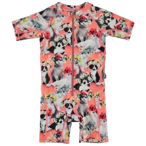 Купить Комбинезон купальный Molo размер 98-104, flower power cats, Белье и купальники