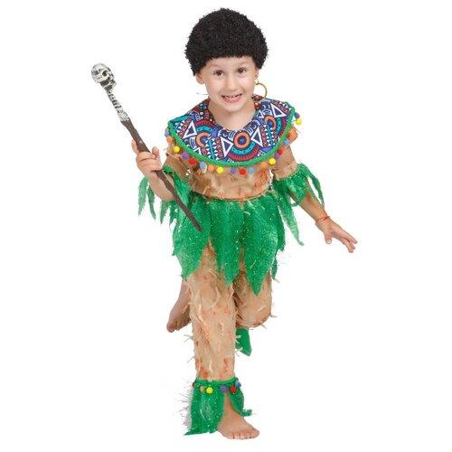Купить Костюм Elite CLASSIC Папуас, бежевый, размер 34 (134), Карнавальные костюмы
