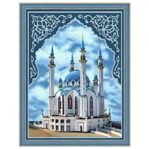 Алмазная живопись Набор алмазной вышивки Мечеть Кул-Шариф (АЖ-1741) 30х40 см алмазная живопись набор алмазной вышивки пылкие маки аж 1510 30х40 см