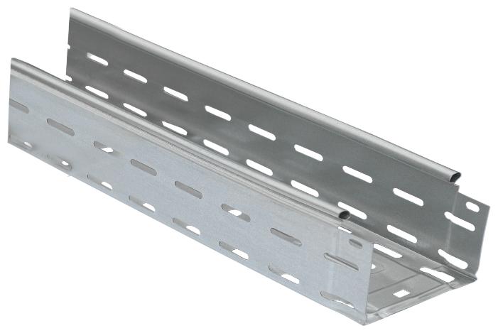 Лоток кабельный листовой IEK CLP10-080-100-120-3-M-HDZ 80 х 100 х 3000 мм