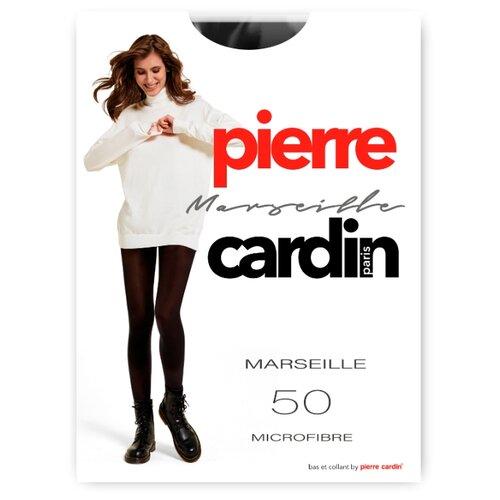 Фото - Колготки Pierre Cardin Marseille, Basic Line, 50 den, размер II-S, nero (черный) колготки 50 den pierre cardin marseille coffee 2 мл