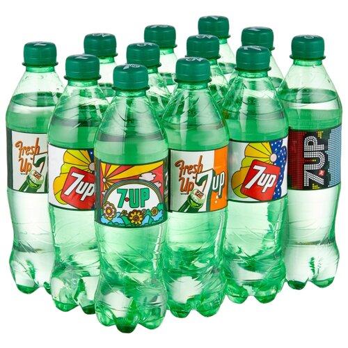 Газированный напиток 7UP Лимон-Лайм, 0.5 л, 12 шт.