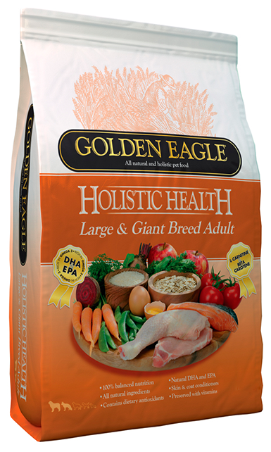 Корм для собак Golden Eagle Holistic Health Large & Giant Breed Adult 24/14 (12 кг)