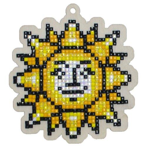 Купить Гранни Набор алмазной вышивки Солнышко (W0295) 8.8х9.5 см, Алмазная вышивка
