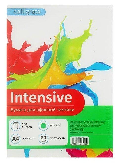 Бумага A4 100 шт. Calligrata Intensive