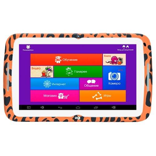 Планшет MonsterPad Жираф/леопард черно-оранжевый