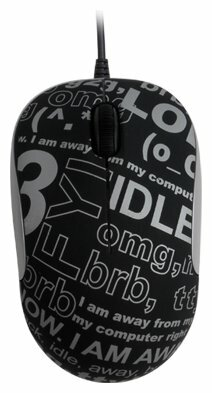 Мышь G-CUBE GLCR-330B Black-Grey USB
